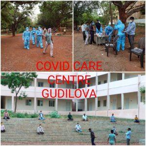Swayamsevaks Calmly running a free Covid Care Centre in Visakhapatnam