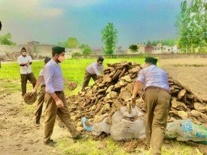 हरिद्वार – 250 से अधिक स्वयंसेवक सेवा कार्य में जुटे