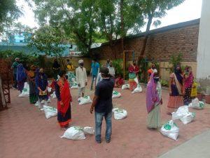 समाज सेवा के लिए सब अर्पण करने का भाव जगा रही सेवा भारती