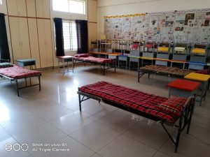Rashtrotthana Parishat – How Schools were converted to Special Covid Care Centers