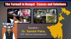 Turmoil in Bengal : Causes and Solutions – Trust the Centre to do the right thing
