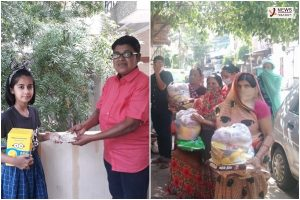 Indore – 'Cycle can wait', 10 yr old Anshika donates her 'bicycle' money to needy families amid lockdown