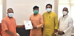 अभाविप – 1170 कार्यकर्ता वैक्सीन केंद्रों पर वालंटियर के रूप में सेवाएं देने को तैयार, प्रतिनिधि मंडल ने मुख्यमंत्री को सौंपी सूची