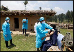 जम्मू कश्मीर – वयस्कों में 100 प्रतिशत टीकाकरण का लक्ष्य हासिल करने वाला वेयान गांव