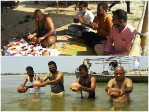Vidisha – RSS Swayamsevaks Stayed in Shamashan for 38 Days and Performed Last Rites of 205 Covid Victims