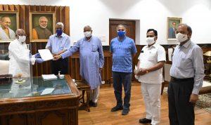 बंगाल की हिंसा से हरियाणा आहत – 22 जिलों के 83 नामचीन लोगों ने राज्यपाल को सौंपा ज्ञापन