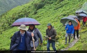 Arunachal Pradesh – Vaccination team and officials trek 9 hours to vaccinate 16 grazers