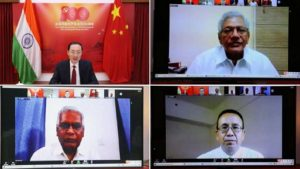 100 yrs of Chinese Communist Party – Sitaram Yechury, D Raja & Others Attend Webinar Organised by Chinese Embassy