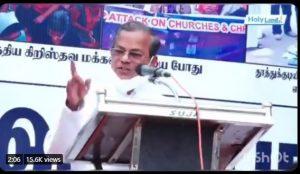 Kanyakumari – Evangelist incite secessionism, communal hatred
