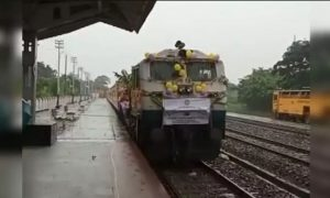 Manipur – First Passenger Train Trial run completed from Silchar to Vaingaichunpao