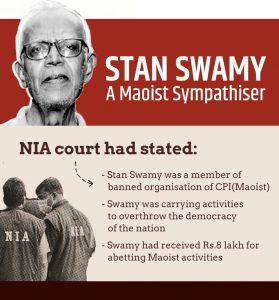 Jesuit Priest Stan Swamy, An Urban Naxal…!!