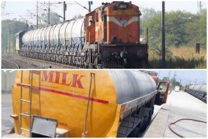 """""""Doodh Duronto"""" from Renigunta transports 10 Crore Litres of Milk to the National Capital"""