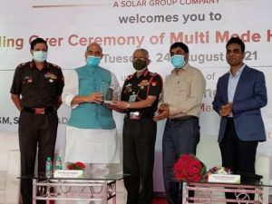 Nagpur – First batch of Multi-Mode Hand Grenades handed over to Indian Army in the presence of Raksha Mantri