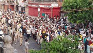 हाजी रफअत अली के जनाजे में भीड़ का मामला, उच्च न्यायालय ने मामले में दर्ज FIR को रिकॉर्ड पर लेने का आदेश दिया