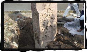 एएसआई को एटा में मिला 1500 वर्ष पुराने गुप्तकालीन मंदिर के अवशेष