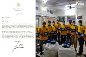 US President commends Sewa International for its service amid pandemic