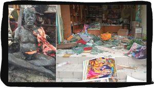 नोआखली स्थित इस्कॉन मंदिर में कट्टरपंथी उपद्रवियों ने हमला किया, एक सदस्य की हत्या