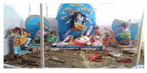 Massive Anti-Hindu Violence in Bangladesh, Multiple Pooja Pandals Destroyed