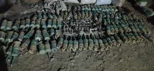 Assam – A huge amount of Indian Army ammunition and munitions recovered in Baksa, 2 arrested